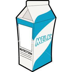 Picture Of Milk Carton Food Icons, Cute Icons, Laser Engraving, Art Images, Latte, Milk, Clip Art, Nutrition, Fruit