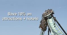Save on attraction and theme park package with #nhsdiscounts