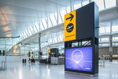 Heathrow, the new Terminal check-in hall. Signage Design, Booth Design, Typography Design, Airport Shuttle, Heathrow Airport, Web Design, Graphic Design, Digital Signage, November 2013