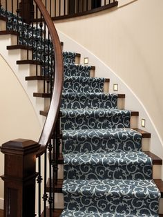 Mallorca Color 00458 On Stairs Stair Runner From Tuftex Carpets Of  California