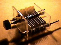 Build Your Own Air Variable Capacitors!