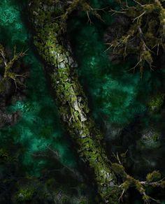 Chultan Jungles: The Maw [battlemap][jungle][forest][night][lair] vozeli com