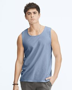 b6ee44b13a41de Comfort Colors 4360 adult tank top info  • 4.8 oz per sq yd • 100
