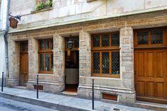 Paris 3e - 51 rue de Montmorency : Maison de Nicolas Flamel (1407), la plus vieille maison de Paris -  Les plus anciennes maisons de Paris, les prétendantes, les légendes et la doyenne   Paris la douce