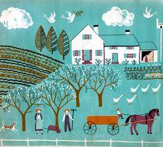 """Dahlov Ipcar """"One Horse Farm"""""""