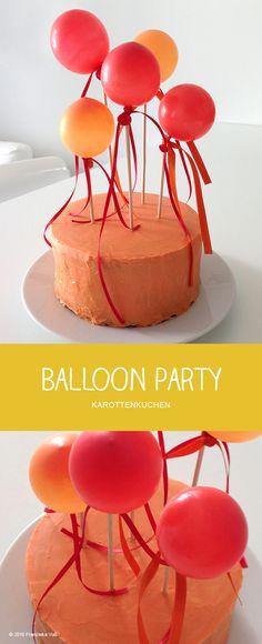 BALLOON PARTY - Karottenkuchen