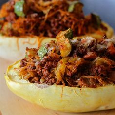 "Spaghetti Squash Casserole in the Shell I ""Fantastic! This comes together so easily and effortlessly."""