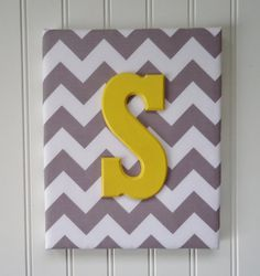 Nursery Decor Upholstered Letters Nursery Letters Wooden