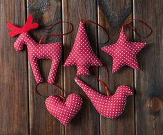 Christmas Decorations – Christmas Decorations in dots – a unique product by…