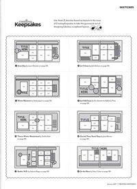 Bonus Sketches: May/June 2011 | May/June 2011 | Creating Keepsakes