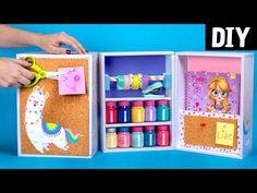 Diy Crafts Hacks, Diy Crafts For Gifts, Creative Crafts, Fun Crafts, Paper Crafts For Kids, Cardboard Crafts, Diy Paper, Diy For Kids, Diy Box Organizer