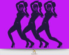 Cabaret #vector #illustration #dance #huntressdesign