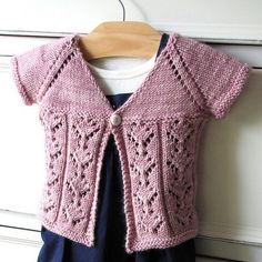NobleKnits Yarn Shop  - Irish Girlie Knits Lilianna Girls Cardigan Knitting Pattern, $6.95 (http://www.nobleknits.com/irish-girlie-knits-lilianna-girls-cardigan-knitting-pattern/)
