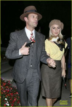 Bonnie & Clyde...cute hallowen costume for adults!