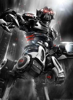 30 3D-роботов и механических персонажей