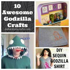10 Awesome Godzilla Crafts