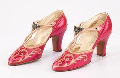 Evening Shoes 1927 The Metropolitan Museum of Art (OMG that dress!)