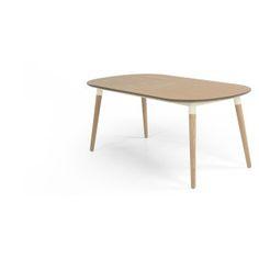 Mit dem stilvollen Edelweiss Esstisch kommt man in unter einer Minute von vier auf sechs Sitzplätze.