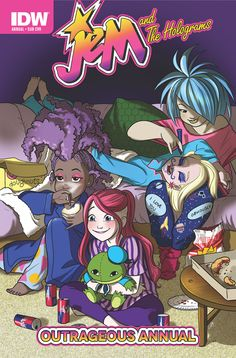 Jem and the Holograms Outrageous Annual, IDW
