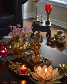 Antique Ganesha, Ethnic Indian Décor, Festive décor, Ganesha collection, Indian Inspired Decor, brass decor, Indian brass decor, lassi glass decor, Indian decor, heirloom decor, antiques, hand me downs