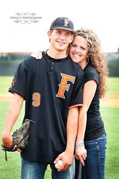 Stacie c. photography mother and son sports photograph senior photo poses b Baseball Senior Pictures, Male Senior Pictures, Football Pictures, Sports Photos, Senior Photos, Baseball Pictures, Senior Portraits, Family Portraits, Poses For Photos