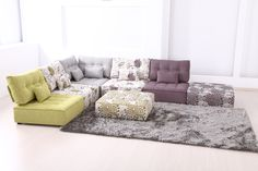 Fama modular sofas from Fama furniture are available at Julia Jones inspirational interiors for modern contemporary furniture & lighting Conwy North Wales