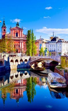 Visit Ljubljana, capital of Slovenia on your incredible trip to the Balkans. Full guide with itinerary to Slovenia, Bosnia & Herzegovina, Montenegro and Croatia. Places Around The World, The Places Youll Go, Travel Around The World, Cool Places To Visit, Places To Travel, Places To Go, Destination Voyage, European Destination, European Travel