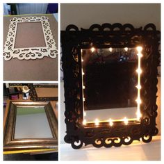 Craftaholics Anonymous® | Ideas for Unfinished Decorative Wood Frames