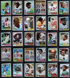 1981 Topps Football Cards Complete Your Set You U Pick From List 201-400 Football Cards, Baseball Cards, 3 Lions, Broncos, Ebay, Soccer Cards