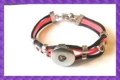 "Foto - Armband "" Pinky Black 1"" von Nickis Schmuckstube auf DaWanda.com"