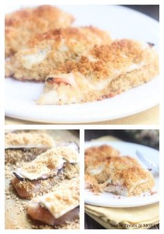Easy Skinny Chicken Cordon Blue Tenders from sweettreatsmore.com. Healthy, cheesy and delicious!