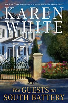 Read The Guests on South Battery (Tradd Street) thriller mystery book by Karen White . THE NEW YORK TIMES BESTSELLERKaren White invites you to explore the brick-walked streets of Charleston in her fifth Tra I Love Books, Good Books, Books To Read, Best Mysteries, Cozy Mysteries, Thing 1, White Books, Mystery Books, Mystery Series