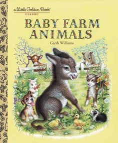 Baby Farm Animals (A Little Golden Book Classic) by Garth Williams http://www.amazon.com/dp/0307021750/ref=cm_sw_r_pi_dp_l4YEwb0GGWGW5