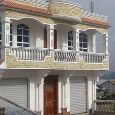 Bungalow House Design, House Front Design, Roof Design, Exterior Design, Front Elevation Designs, House Elevation, Three Bedroom House Plan, Latest House Designs, Duplex House Plans