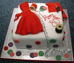 Dressmakers Cake!