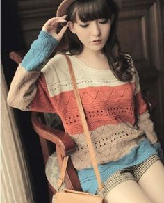 Long Sleeve Knit Sweater from SYMPHONY on Storenvy