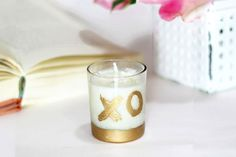 Hugs and kisses! We love these DIY votive candleholders from Darby Smart. Candle Favors, Votive Candles, Candle Holders, Wedding Party Favors, Bridal Shower Favors, Wedding Ideas, Guest Gifts, Special Guest, Darby Smart