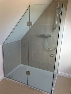 Image result for shower cubicles for sloping ceilings