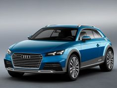 Audi's Allroad Concept is a Sleek Shooting Brake