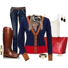 """A Chill in the Air Contest 1"" by kginger on Polyvore"