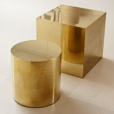 CUBE by Birgit Israel   BRASS COLLECTION in the BI Collection