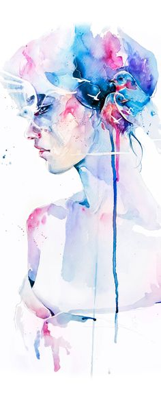 'Loss' by Agnes Cecile - Fine Art Prints available exclusively at Eyes On Walls - http://www.eyesonwalls.com/collections/agnes-cecile?utm_source=pinterest&utm_medium=ads&utm_content=Loss&utm_campaign=