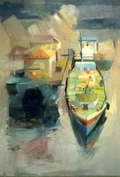 "Saatchi Art Artist Constantin Tanislav; Painting, ""To the Danube"" #art"