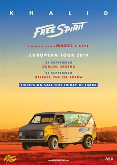 Buy Khalid tickets from Ticketmaster IE. Khalid tour dates, event details + much more. Tour Posters, Movie Posters, Music Wall, European Tour, Khalid, Upcoming Events, Belfast, Special Guest, Wall Collage