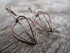 Items similar to Physalis / Copper // Earrings on Etsy Advanced Higher Art, High Art, Copper Earrings, Cuff Bracelets, Etsy, Amazing, Jewelry, Ear Jewelry, Copper