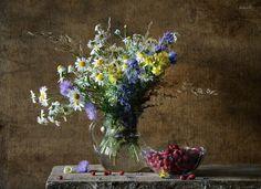 полевые цветы...