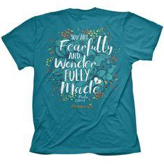 Cherished Girl - Wonderful Flowers (Christian T-Shirt)