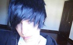 Эмо Boy With Black Hair - Эмо-парни фото