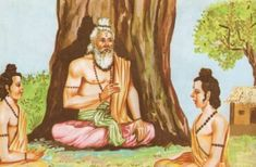 THE RAMAYANA - Part 10 Rama gave rich gifts to all the Vanaras when they were about to leave Ayodhya after his coronation. Everybody was ready to leave but see Motivational Status, Motivational Speeches, Spiritual Stories, Spiritual Wisdom, Mahavatar Babaji, Tantric Yoga, Saints Of India, Born In China, Guru Purnima