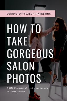 A step-by-step guide for making awesome salon photos without expensive equipment. Learn how to improve your salon business with beautiful, clear photos that will attract more clients. Boost your salon marketing with these great tips!